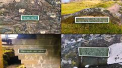 Tarbert Castle signage
