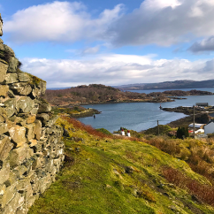 View from Tarbert Castle