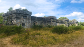 Dalquharran Castle Country Mansions adjacent structure