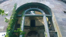 Dalquharran Castle Country Mansion showing window detail