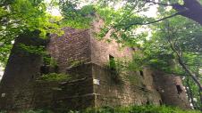 Dalquharran Castle Rear Elevation
