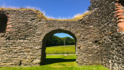 Skipness Castle arch