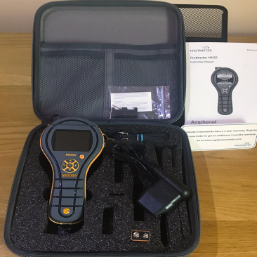 The Protimeter MMS2 with carry case and attachments