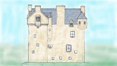 Baltersan castle sketch