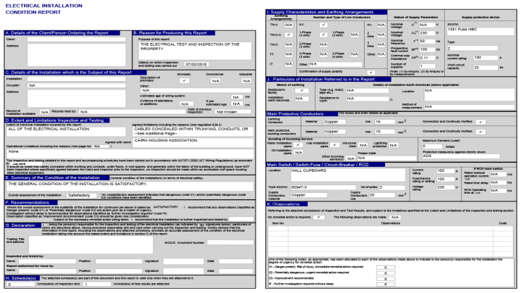 Social Housing Management: Electrical Certificates – The