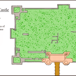 Kirby Muxloe Castle Plan