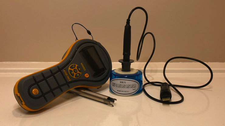 Protimeter Flooring Kit Calibration check